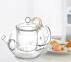Чайник заварочный стеклянный Kamjove AC-12 900 мл 3
