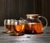 Чайник заварочный стеклянный с деревянной крышкой 1000 мл 7