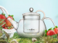 Чайник заварочный стеклянный Kamjove AC-12 900 мл 0