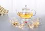 Чайник заварочный стеклянный 1000 мл 4