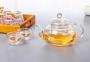 Чайник заварочный стеклянный 1000 мл 2
