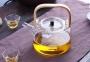 Чайник заварочный стеклянный с деревянной ручкой 1200 мл 2