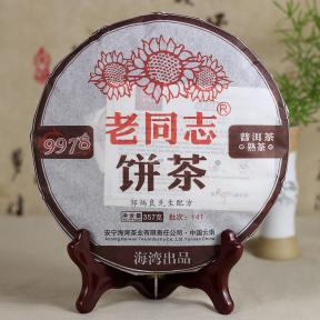Чай Шу Пуэр Хайвань Лао Тун Чжи 9978 141 2014 года 357 г