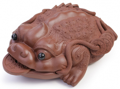 Чайна фігурка Трилапа золота жаба