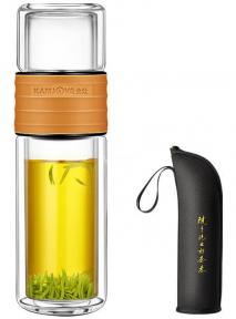 Колба (бутылка) для заваривания чая Kamjove TP-109 238 мл (коричневый мокко)