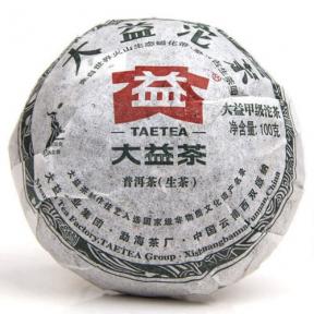 Чай Шен Пуер Менхай Да І Вищий сорт 002 2010 року 100 г