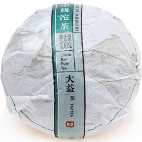 Чай Шен Пуэр Мэнхай Да И Высший сорт 1401 2014 года 100 г