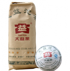 Чай Шен Пуэр Мэнхай Да И Высший сорт 101 2011 года 100 г