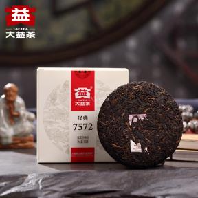 Чай Шу Пуэр Мэнхай Да И 7572 1701 2017 года 150 г