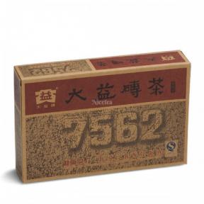 Чай Шу Пуэр Мэнхай Да И 7562 2006 года 250 г