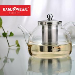 Чайник заварочный стеклянный Kamjove A-10 1200 мл