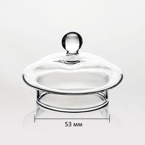 Крышка стеклянная для заварочного чайника 600 мл (53 мм)