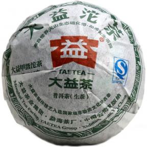 Чай Шен Пуэр Мэнхай Да И 301 2013 года 100 г