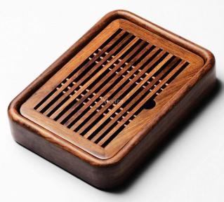 Чабань деревянная Shang Yan Fang 26.8х20х5 см (коричневая)