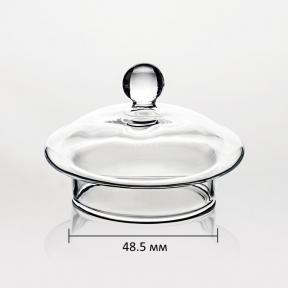 Крышка стеклянная для заварочного чайника 400 мл (48.5 мм)