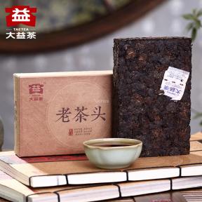 Чай Шу Пуэр Мэнхай Да И Лао Ча Тоу 1601 2016 года 280 г