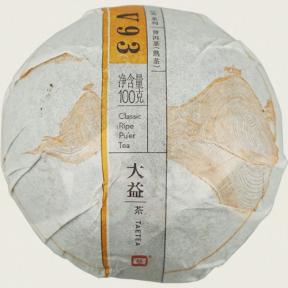 Чай Шу Пуэр Мэнхай Да И V93 1502 2015 года 100 г