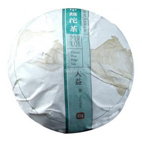 Чай Шен Пуэр Мэнхай Да И Высший сорт 1701 2017 года 100 г