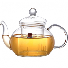 Чайник заварочный стеклянный YiWuYao FH-202F 600 мл