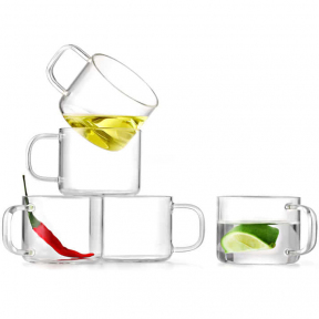Чашки стеклянные Samadoyo CP-02 150 мл (2 шт)