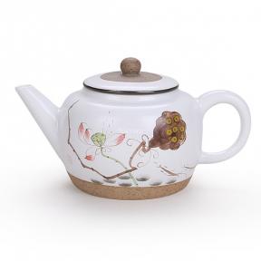 Чайник заварочный керамический Лотос 220 мл