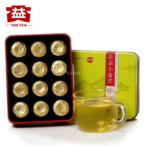 Чай Шен Пуэр Мэнхай Да И Сяоцзинь туо 1801 2018 года 36 г