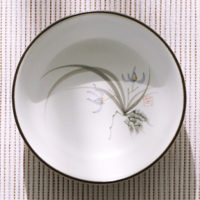 Пиала керамическая Орхидея 50 мл (широкая)