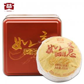 Чай Шу Пуэр Мэнхай Да И Жуи (Желаемый) 1401 2014 года 100 г