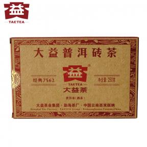 Чай Шу Пуэр Мэнхай Да И 7562 1601 2016 года 250 г