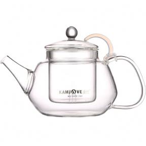 Чайник заварочный стеклянный Kamjove AC-12 900 мл