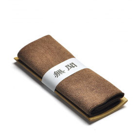 Полотенце чайное коричневое 34х24.5 см
