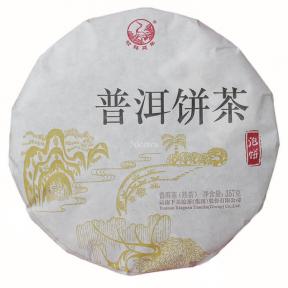 Чай Шу Пуэр Сягуань Пао Бин 2016 года 357 г
