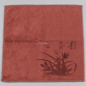 Полотенце чайное коричневое