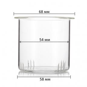Фільтр скляний для заварювального чайника (58 мм)