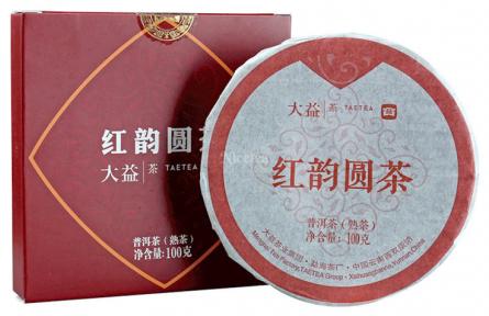 Чай Шу Пуер Менхай Да І Червона мелодія 2001 2020 року 100 г