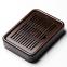 Чабань деревянная Shang Yan Fang 26.8х20х5 см (темно-коричневая)