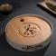 Чабань круглая Мелодия лотоса (керамика/бамбук)