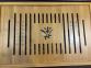Чабань бамбуковая 43х28х5 см (с поддоном)